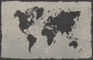 מתנות לדתיים מפת גירוד של העולם